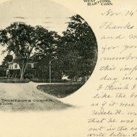 Thompson's Corner, West Hartford, Conn