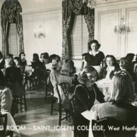 Dining Room St. Joseph College - 1940's - Front.jpg