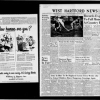 West Hartford News, vol. 16, (repeated) issues 45-49, including Back to the Campus Fashions and 7th Annual County Fair Program, September, 1949